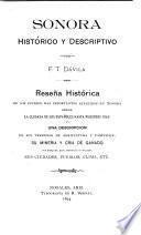 Sonora histórico y descriptivo