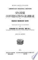 Spanish Conversation-grammar