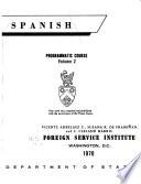 Spanish; Programmatic Course