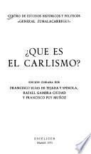 ?Què es el Carlismo?