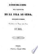 Sub-inspección general de infanteria del ejército de la Isla de Cuba