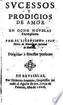 Successos y prodigios de amor en ocho novelas exemplares