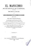 Sucinta historia de la ciencia mental y grupos sintomatológicos de las enfermedades de espíritu, que da á luz ... Antonio Pujadas