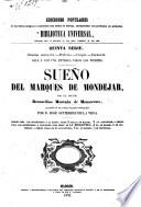 Sueño del Marqués de Mondéjar ... precedido de un prólogo biográfico-bibliográfico por D. J. Gutierrez de La Vega
