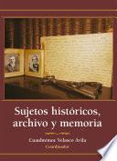 Sujetos históricos