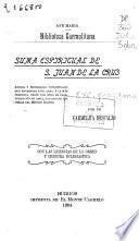 Suma espiritual de San Juan de la Cruz