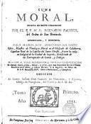 Suma Moral...Aumentada por D.Manuel Rico