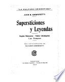Supersticiones y leyendas