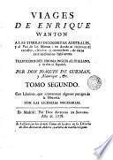 Suplemento, o sea Tomo tercero [-- quarto y ultimo] de los viages de Enrique Wanton a el pais de las monas, 2