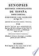 Synopsis histórica chronologica de España