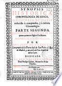 Synopsis historica chronologica de España o Historia de España reducida à compendio, y à debida chronologia