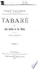 Tabaré de Juan Zorilla de San Martin