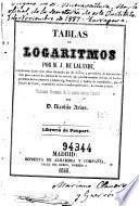 Tablas de logaritmos