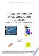Taller de Arduino programado con minBloq