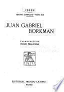 Teatro completo: Juan Gabriel Borkman