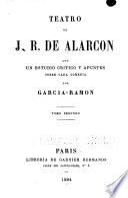 Teatro de J.R. de Alarcón