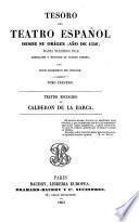 Teatro escogido de Calderon de la Barca