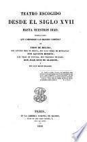 Teatro escogido desde el siglo XVII hasta nuestras dias; primera parte, que comprende las mejores comedias de Tirso de Molina, Antonio Mescua
