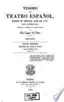 Teatro escogido desde el siglo XVII hasta nuestros dias