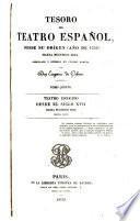 Teatro escogido desde el siglo XVII hasta nuestros días