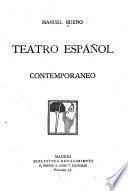 Teatro español contemporaneo