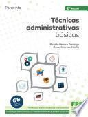 Técnicas administrativas básicas 2.ª edición 2021