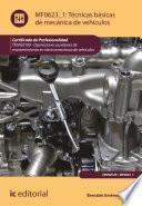 Técnicas básicas de mecánica de vehículos. TMVG0109