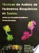 Técnicas de análisis de parámetros bioquímicos en suelos