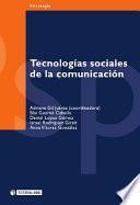 Tecnologías sociales de la comunicación