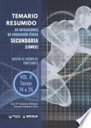 Temario Resumido de Oposiciones de Educación Física Secundaria (LOMCE) Volumen II