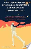 Temario Subalterno u ordenanza de corporación local