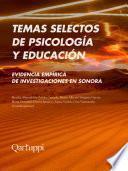 Temas selectos de psicología y educación