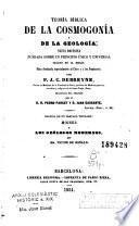 Teoría bíblica de la cosmogonía y de la geología