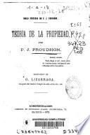 Teoría de la propiedad