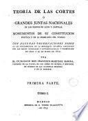Teoria de las Cortes, ó, Grandes juntas nacionales de los reinos de Leon y Castilla, 1