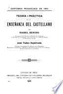 Teoria i práctica de la enseñanza del castellano