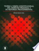 Teórica visión constitucional del derecho procesal y de reforma procedimental