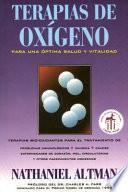 Terapias de oxígeno