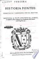 Tercera parte de la Historia pontifical y catolica ...