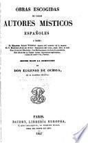 Tesoro de escritores místicos españoles: Obras escogidas de varios autores místicos españoles