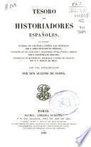 Tesoro de historiadores españoles