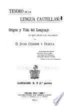 Tesoro de la lengua castellana