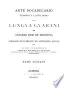 Tesoro de la lengua guarani