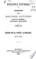 Tesoro de la poesia castellana