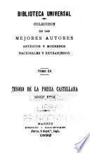 Tesoro de la poesía castellana