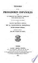 Tesoro de los prosadores españoles