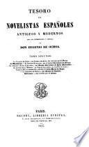 Tesoro de novelistas españoles antiguos y modernos