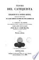 Tesoro del catequista ó Explanación de la doctrina cristiana