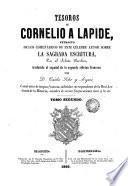 Tesoros de Cornelio a Lapide, 2