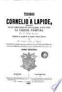 Tesoros de Cornelio a Lapide, 3